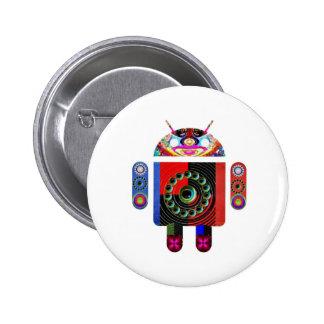 Androide del papá y del bebé - Art101 por Navin Pins