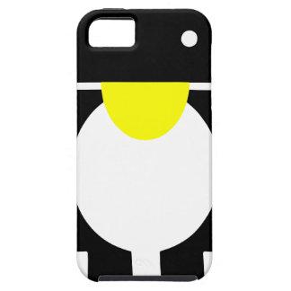 Androide del pingüino de Linux Tux iPhone 5 Funda
