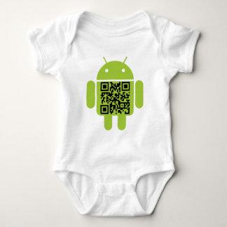 Androide infantil body para bebé