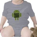 Androide infantil camisetas