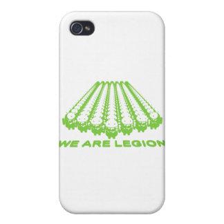 Androide - legión iPhone 4 cárcasas