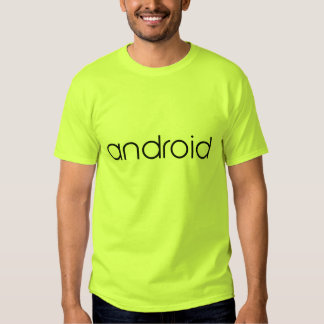 Androide oficial remera