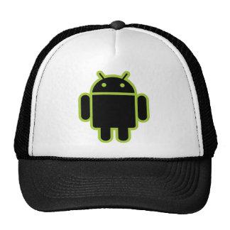 Androide oscuro gorro