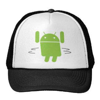 Androide - sacuda su botín gorros