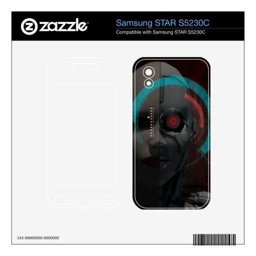 Androide Samsung STAR S5230C Calcomanía
