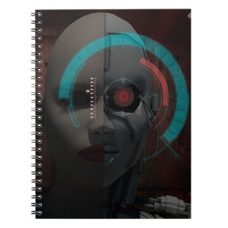 Androide Spiral Notebook