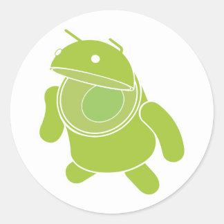 Androidski Sticker