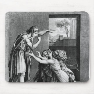 Andromache at the feet of Pyrrhus Mousepad