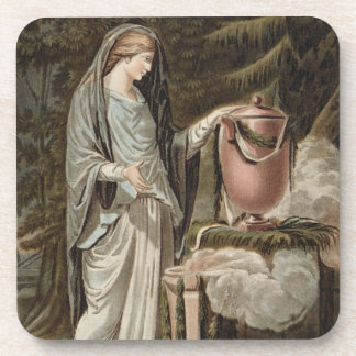 Andromache, costume for 'Andromache' by Jean Racin Drink Coaster