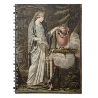 Andromache, costume for 'Andromache' by Jean Racin Notebook