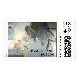 Andromeda 60inx 36in, FRANCES CROHN 1925-2005 Postage Stamps