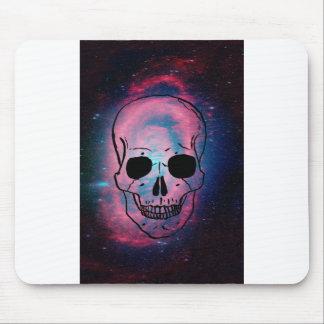andromeda and skull mouse pad