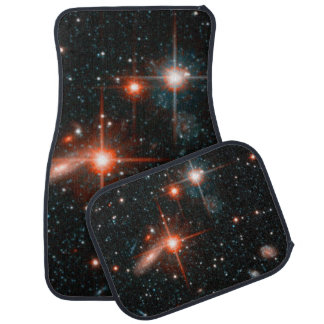 Andromeda- Andromeda Galaxy Halo Details Floor Mat