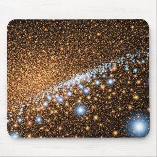 Andromeda Black Hole Blue Stars - Artist Concept Mouse Pad