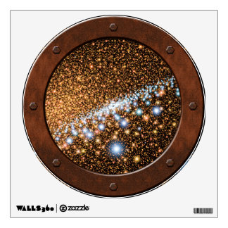 Andromeda Black Hole Steampunk Porthole Window Room Stickers