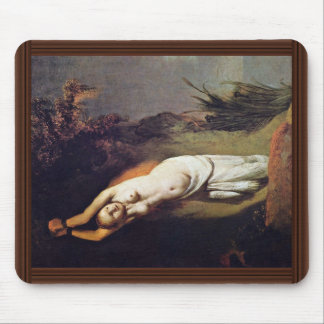 Andromeda. By Rembrandt Van Rijn  (Best Quality) Mouse Pad