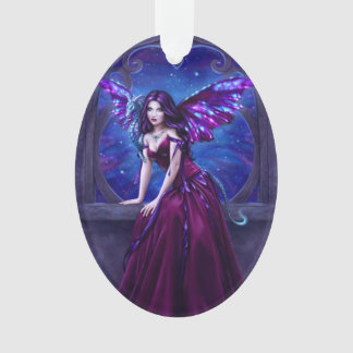 Andromeda Dragon Acrylic Oval Ornament