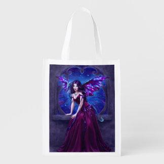 Andromeda Dragon Art Reusable Grocery Bag