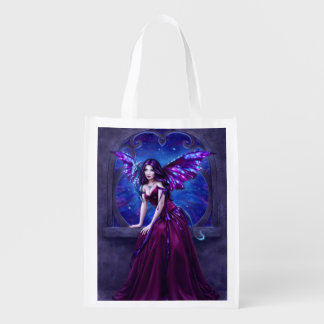 Andromeda Dragon Art Reusable Grocery Bag