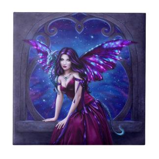 Andromeda Dragon Art Tile