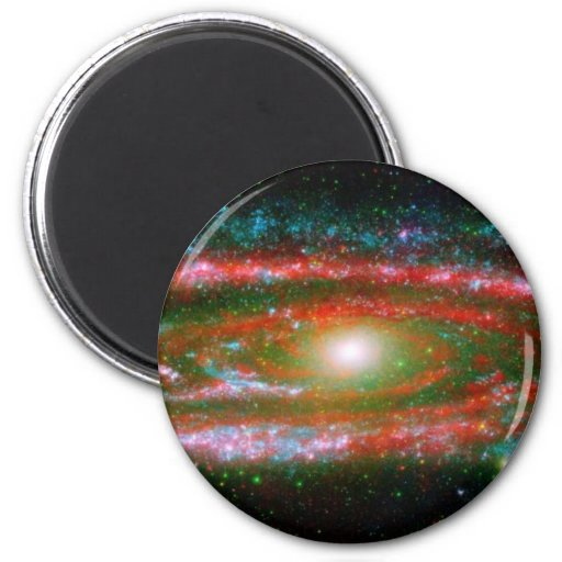 Andromeda Galaxy 2 Inch Round Magnet