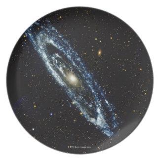 Andromeda Galaxy 3 Melamine Plate