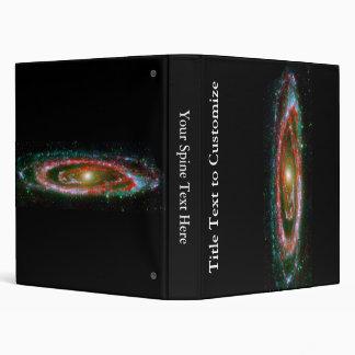 Andromeda Galaxy 3 Ring Binder