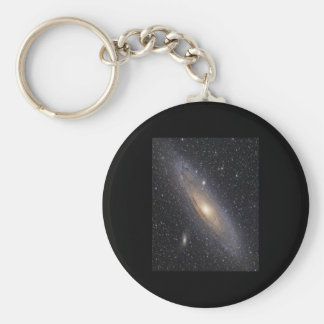 Andromeda Galaxy Basic Round Button Keychain
