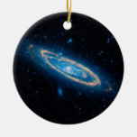 Andromeda Galaxy Ceramic Ornament