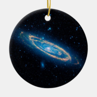 Andromeda Galaxy Ceramic Ornament