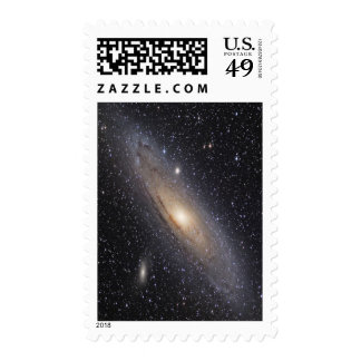 Andromeda Galaxy - Customized Postage Stamp