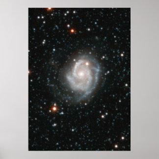 Andromeda Galaxy Halo Poster