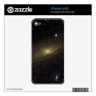 Andromeda Galaxy iPhone 4 Skins
