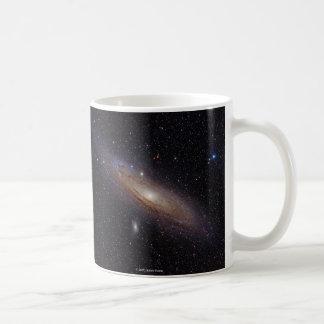 Andromeda Galaxy, M31 and NGC224 Coffee Mug