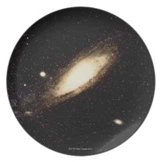 Andromeda Galaxy Melamine Plate
