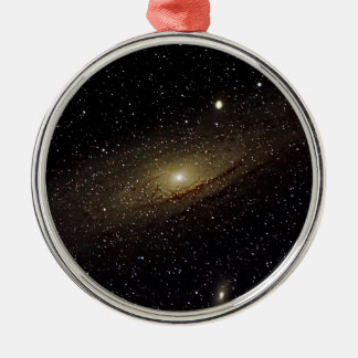 Andromeda Galaxy Metal Ornament