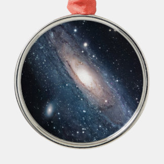 andromeda galaxy milky way cosmos universe metal ornament
