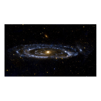 ANDROMEDA GALAXY (outer space) standard ~ Double-Sided Standard Business Cards (Pack Of 100)