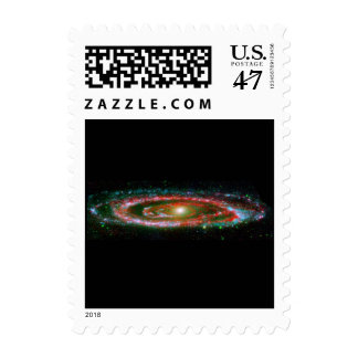 Andromeda Galaxy Postage Stamp