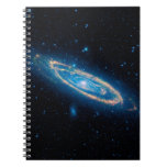 Andromeda Galaxy Spiral Notebooks