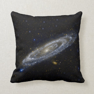 Andromeda Galaxy Starry Sky Throw Pillow