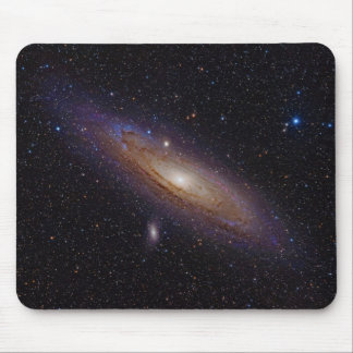 Andromeda Galaxy taken with hydrogen alpha filter Mouse Pad