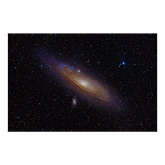 Andromeda Galaxy taken with Hydrogen Alpha Filter Print