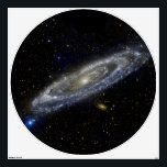 "Andromeda Galaxy Wall Decal 48&quot;x48&quot;<br><div class=""desc"">Andromeda Galaxy Wall Decal 48&quot;x48&quot; Photo Credit: Nasa/JPL-CalTech</div>"