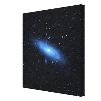 Andromeda galaxy's older stellar population canvas print