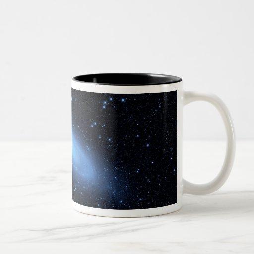 Andromeda galaxy's older stellar population coffee mug