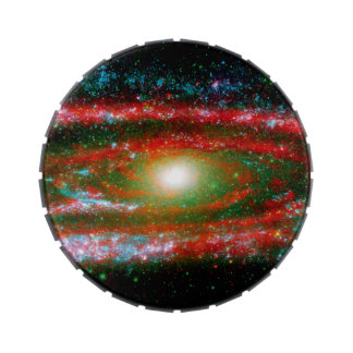 Andromeda Gallaxy Jelly Belly Candy Tin