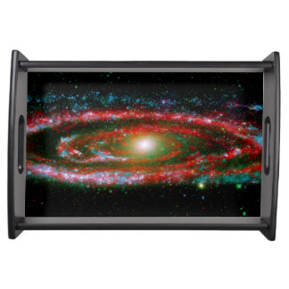 Andromeda Gallaxy Serving Tray