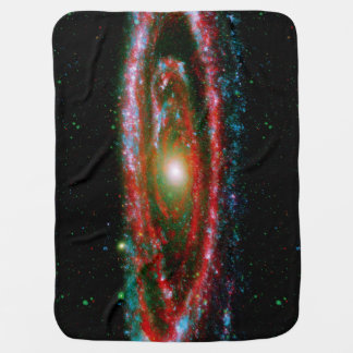 Andromeda Gallaxy Swaddle Blanket