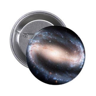 Andromeda majestuoso de la vía láctea de la impres pin redondo de 2 pulgadas